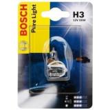 Bec auto Bosch H3 12V 55W, blister