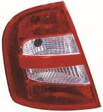 Cumpara ieftin Stop tripla lampa spate stanga (semnalizator alb, culoare sticla: rosu) SKODA FABIA HATCHBACK 1999-2004