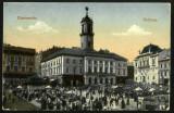 Carte Postala Veche Circulata 1917 BUKOWINA Bucovina CZERNOWITZ Cernauti