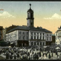 Carte Postala Veche Circulata 1917 BUKOWINA Bucovina CZERNOWITZ Cernauti, Fotografie