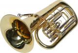 Eufoniu profesional 4 pistoane Karl Glaser Bb Baritonhorn auriu