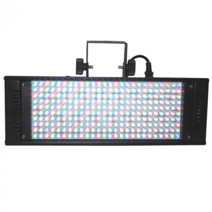 Panou cu 260 LED-uri color, DMX,512, rosii, verzi si albastre