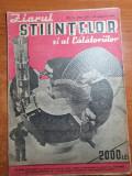 ziarul stiintelor si al calatoriilor 28 ianuarie 1947-un nou avion cu reactie
