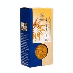 Condiment Sarutul Soarelui Amestec de Flori si Mirodenii Bio 40gr Sonnentor Cod: 12226