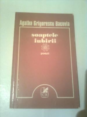 SOAPTELE IUBIRII ( POEZII )  ~ AGATHA GRIGORESCU BACOVIA foto