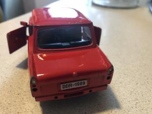 Macheta metalica ,Trabant,fotul DDR
