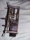 Angrenaj vechi  ceas de perete ,mecanism vechi ceas pendul ORIGINAL,T.GRATUIT