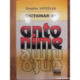 Dictionar de antonime, Onufrie Vinteler