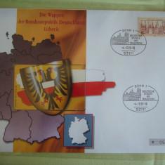Cartela Telefonica + FDC Germania Lubeck - Exponat Numerotat