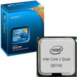 Procesor Intel Core 2 Quad Q8200 2.33 GHz, 4M Cache, FSB 1333 Mhz.