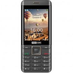 Telefon mobil MaxCom MM236 Dual SIM Black/Gold