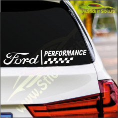 Ford Performance- Stickere Auto-Cod:ESV-015-Dim : 25 cm. x 4.2 cm.