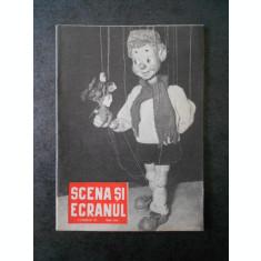 REVISTA. SCENA SI ECRANUL. Numarul 10. MAI 1958