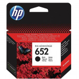 Cartus HP 652 Original F6V25AE Black, Negru