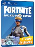 Fortnite Epic Neo Versa Bundle + 2000 V-Bucks - PS4
