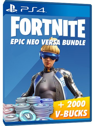 Fortnite Epic Neo Versa Bundle + 2000 V-Bucks - PS4