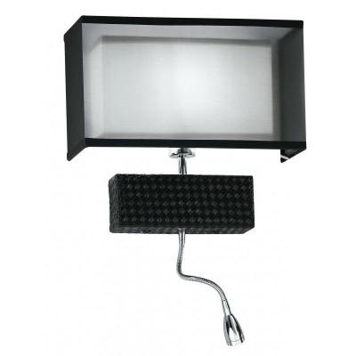 Aplica Le I-METROPOL/AP-LED modern negru foto