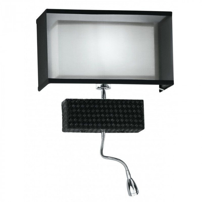 Aplica Le I-METROPOL/AP-LED modern negru