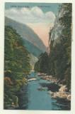 Cp Herculane : Valea Cernei - circulata 1934, timbre, Fotografie, Baile Herculane