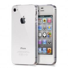 Husa Apple iPhone 4/4S, Elegance Luxury TPU slim transparent