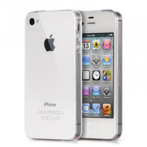 Husa Apple iPhone 4/4S, Elegance Luxury TPU slim transparent