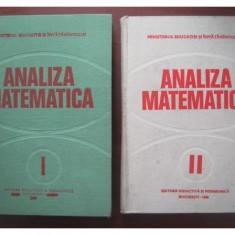 ministerul invatamintului analiza matematica 1+2