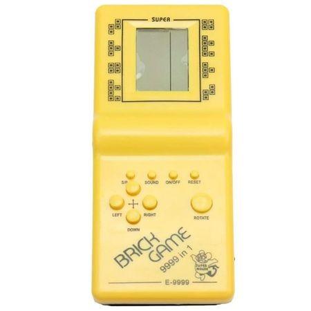 Consola de jocuri, GMO, Brick Game - Jocurile copilariei, galben