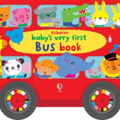 Babys Very First Bus book - Carte Usborne (1+)
