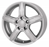 Jante DACIA LOGAN 5.5J x 14 Inch 4X100 et35 - Rc Design Rcd10 Kristallsilber - pret / buc, 5,5, 4