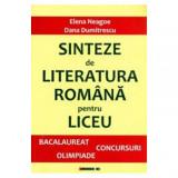 Sinteze de Literatura Romana pentru liceu | Dana Dumitrescu, Eikon