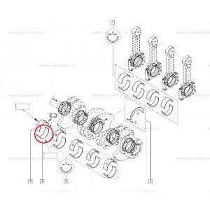 Cuzineti palier Dacia Logan si Sandero 1.5 dci cota Standard, originali Renault 8200149724 , 1 bucata