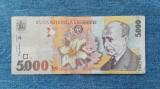 5000 Lei 1998 Romania / seria 5252152