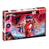 Cumpara ieftin Puzzle copii Trefl, 260 piese, model Miraculous Ladybug