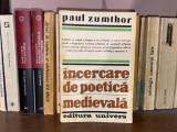 Încercare de poetică medievală - Paul Zumthor