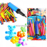 Set 400 Baloane modelaj profesionale pentru twisting Balloon Magic A552