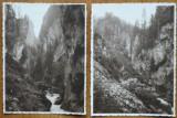 Cheile Oarzei , valea Ialomitei , Muntii Bucegi , Padina , 1937 , 5 fotografii