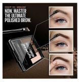 Fard de Sprancene Maybelline New York Master Brow Pro Palette Soft Brown