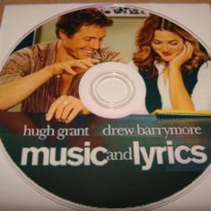 DVD - Music and lyrics