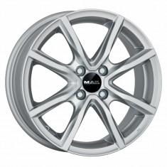 Jante DACIA LOGAN 7J x 17 Inch 4X100 et35 - Mak Milano 4 Silver - pret / buc