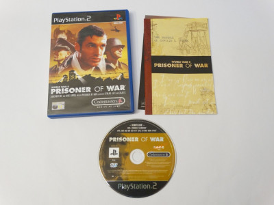 Joc Playstation 2 - PS2 - World War II Prisoner of War foto