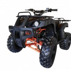"""ATV KXD 125cc 4timpi - 006D roti de 10"""" culoare negru/portocaliu Cod Produs: MX_NEW 1092O"""