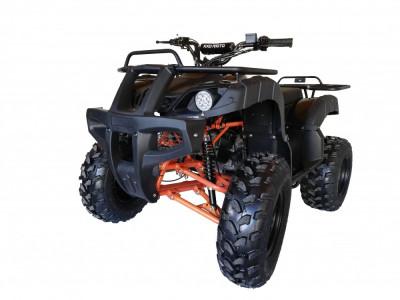 """ATV KXD 200cc 4Timpi Roti de 10"""" Culoare Negru/Portocaliu Cod Produs: MX_NEW 150O foto"""