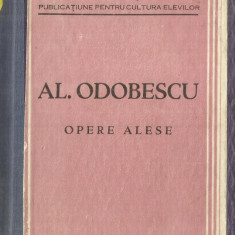 AL. ODOBESCU , OPERE ALESE