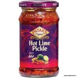 PATAK'S Lime Pickle Hot (Muraturi Indiene de Lamaie Picant) 283g