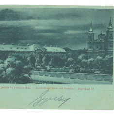 4839 - ORADEA, Church & Market, Litho, Romania - old postcard - used - 1899