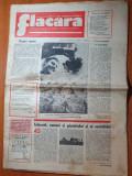 flacara 22 septembrie 1977-ceausescu in iasi,botosani si suceava,articol buzias