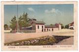 #2454- Romania, Covasna carte postala circulata 1926: Baia Balta dracului, anim