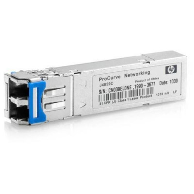 Modul HP transceiver X121 SFP 1 port 1G LC LX 10 km foto