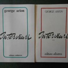 GEORGE ARION - INTERVIURI 2 volume