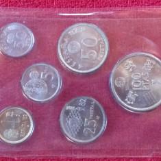 Serie numismatica comemorativa - ESPANA 1982 Campionatul Mondial de Fotbal
